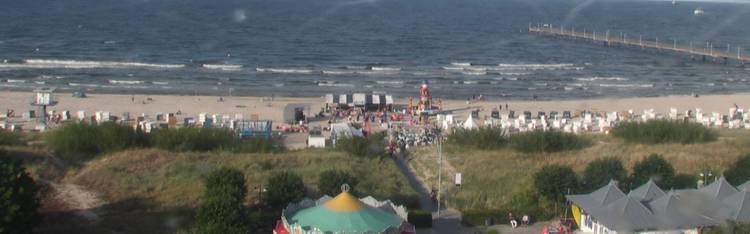 Livecam Usedom - Seebad Ahlbeck - Strand - Ahlbeck Hotel