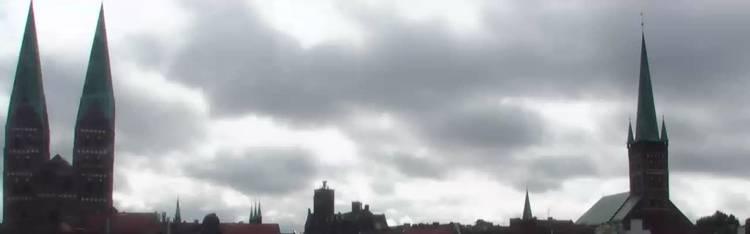 Livecam Lübeck - Altstadt - Radisson Blu Hotel