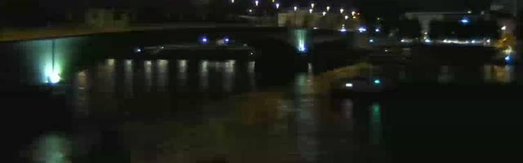 Livecam Bonn - Kennedybrücke - Rheinufer