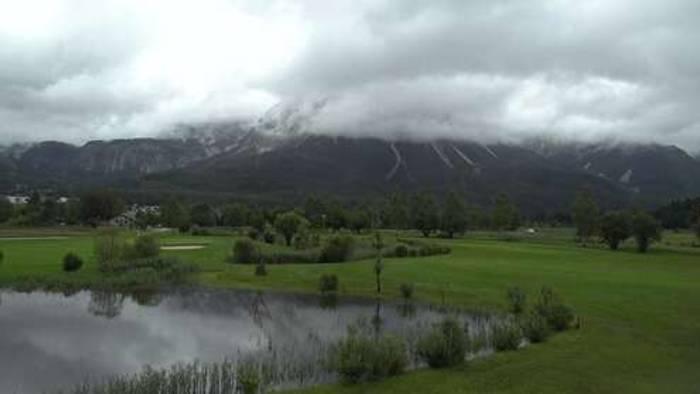 HD Live Webcam Ehrwald - Golfclub Tiroler Zugspitze