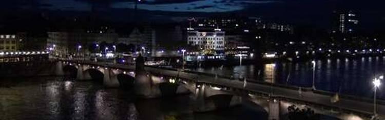 Livecam Basel - Rheinufer