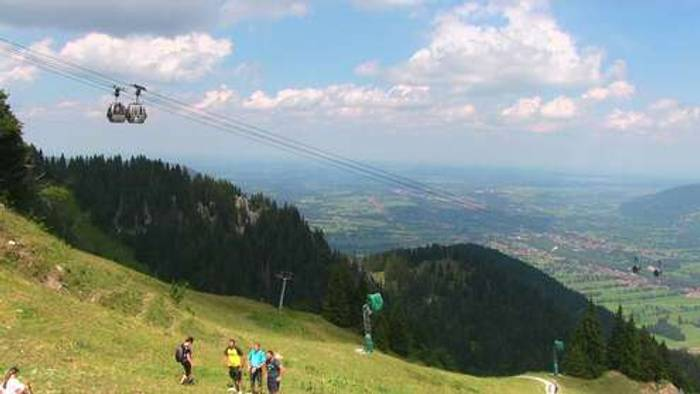 HD Live Webcam Lenggries - Brauneck Bergstation