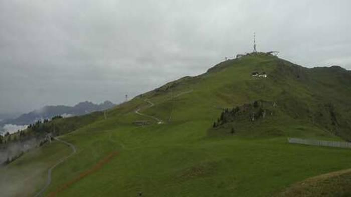 HD Live Webcam Kitzbühel - Hornköpfl - Blick zum Kitzbüheler Horn