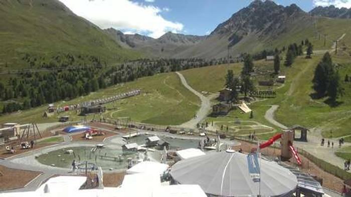 HD Live Webcam Nauders - Bergstation Gondelbahn