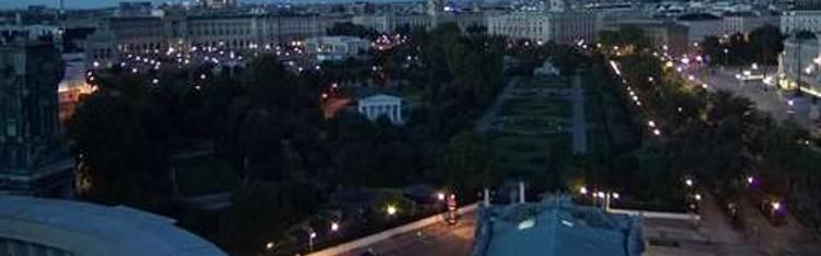 Livecam Wien - Burgtheater - Rathaus