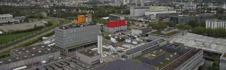 Livecam Zürich-Gebäude des SF