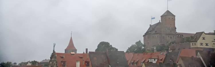 Livecam Nürnberg - Altstadt und Kaiserburg