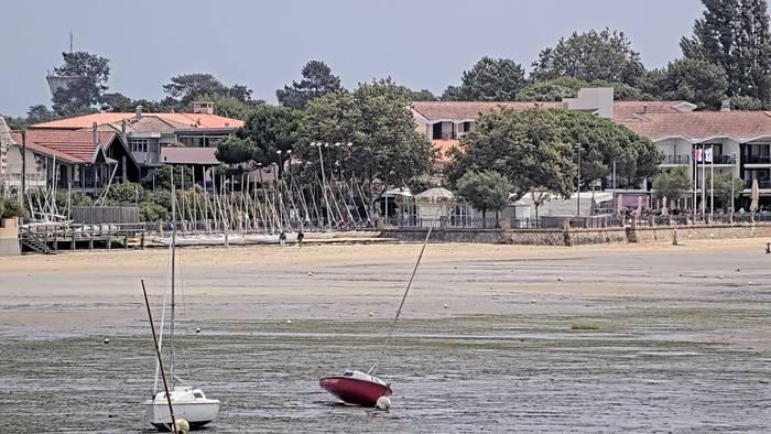 HD Live Webcam Andernos-les-Bains (Arcachon) - Esplanade de la jetée