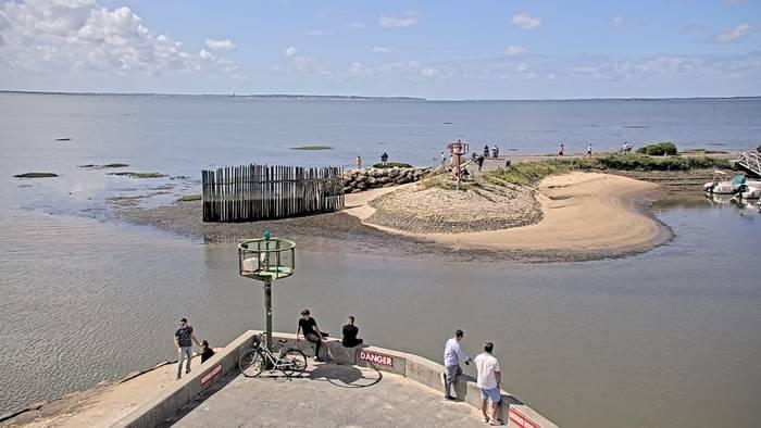 HD Live Webcam Andernos-les-Bains (Arcachon) - Port ostréicole