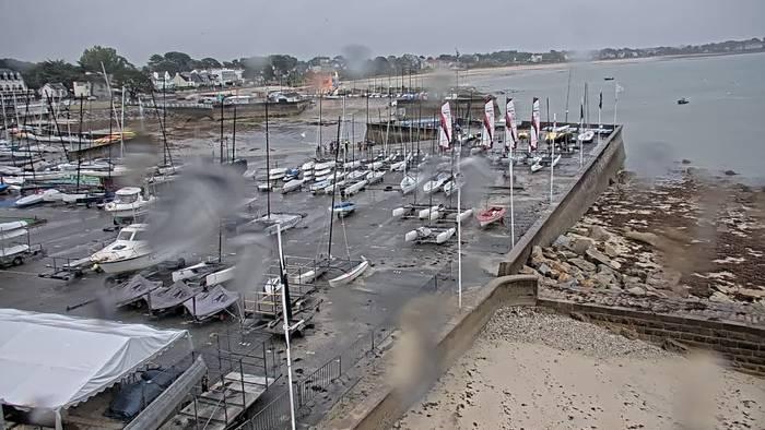 HD Live Webcam Carnac - Base nautique et plage