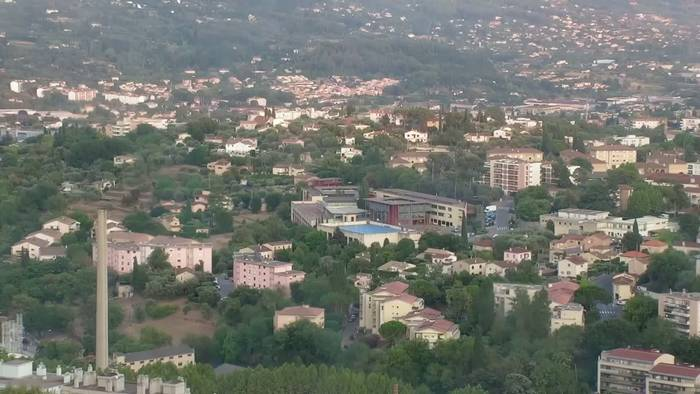 HD Live Webcam Grasse - Quartier St Claude et Le Plan