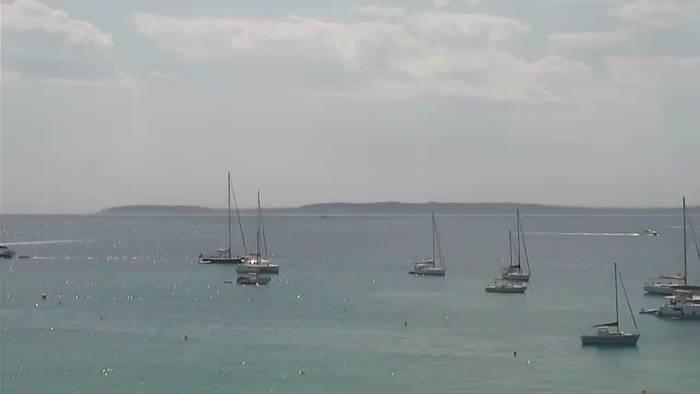 HD Live Webcam Le Lavandou - Côte d'Azur - Les îles d'or