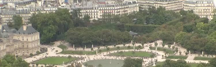 Livecam Paris - Jardin du Luxembourg