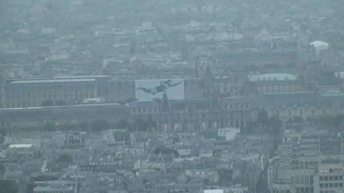 HD Live Webcam Paris - Musée du Louvre