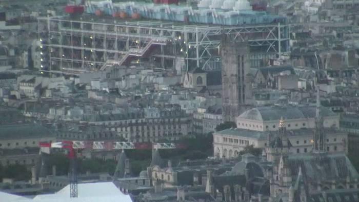 HD Live Webcam Paris - Tour Saint Jacques
