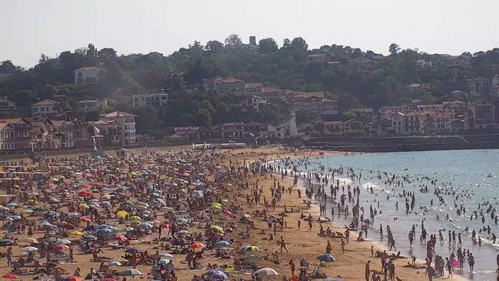HD Live Webcam Saint-Jean-de-Luz - Promenade