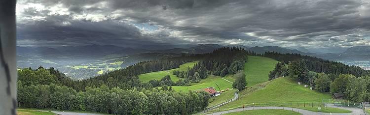 Livecam Pfänder bei Bregenz am Bodensee - Bergstation Pfänderbahn