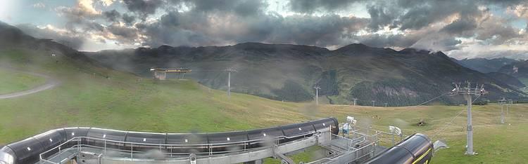 Livecam Reschen am Reschenpass - Skigebiet Schöneben