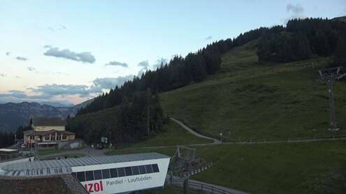 HD Live Webcam Bad Ragaz - Pizol - Pardiel Bergstation