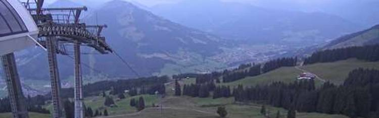 Livecam Brixen im Thale - Jochbahn Bergstation
