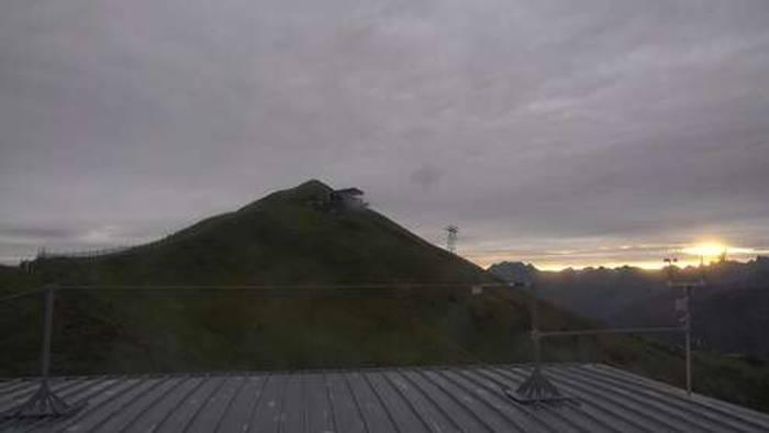HD Live Webcam Oberstdorf im Allgäu - Möserbahn Bergstation