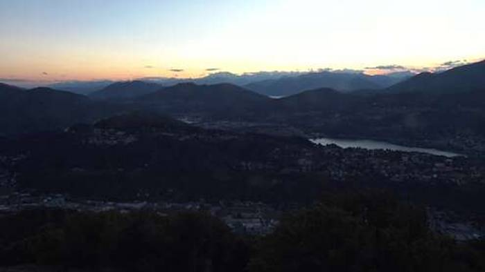 HD Live Webcam Paradiso - Monte San Salvatore