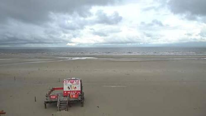 HD Live Webcam St. Peter-Ording - Badestelle Bad