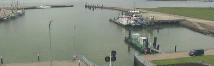 Livecam Wangerland - Hooksiel - Außenhafen