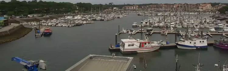 Livecam Capbreton Port 2