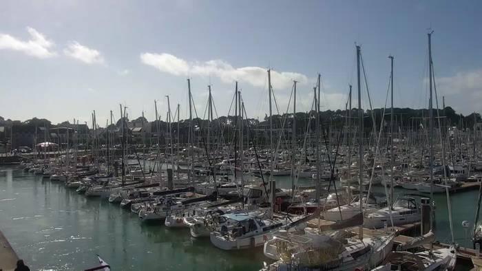HD Live Webcam La Trinite sur Mer 01 - Mairie Balise Port