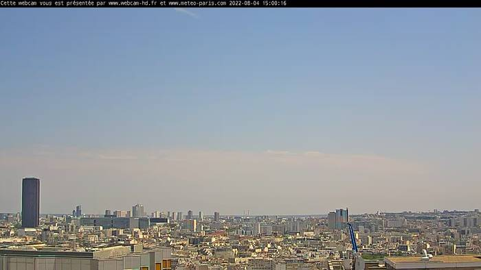 HD Live Webcam Paris - Tour Montparnasse