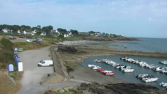 HD Live Webcam Saint Gildas de Rhuys 01 - Capitainerie