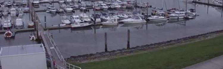 Livecam Langeoog - Sportboothafen Langeoog