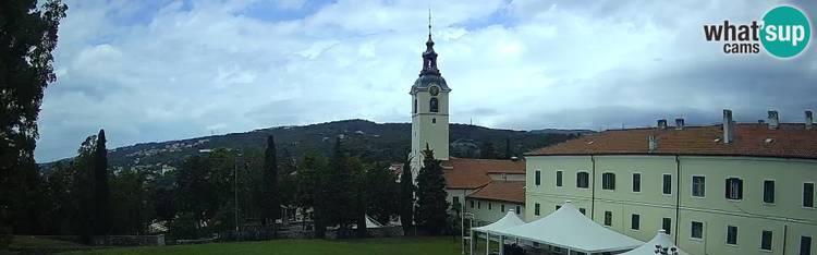 Livecam Shrine of Our Lady of Trsat - Rijeka