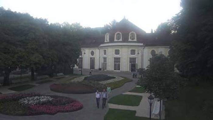 HD Live Webcam Bad Reichenhall - Königlicher Kurgarten