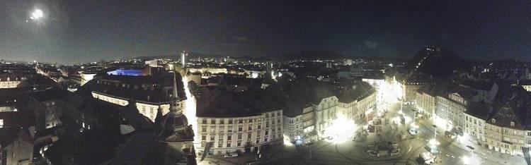 Livecam Graz - Hauptplatz - Rathausturm