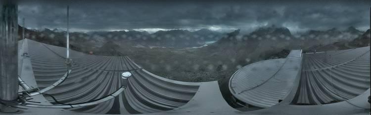 Livecam St. Moritz - Skigebiet Corviglia - Piz Nair Bergstation