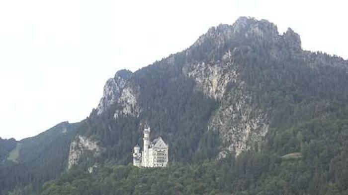 HD Live Webcam Schwangau - Schloss Hohenschwangau und Alpsee