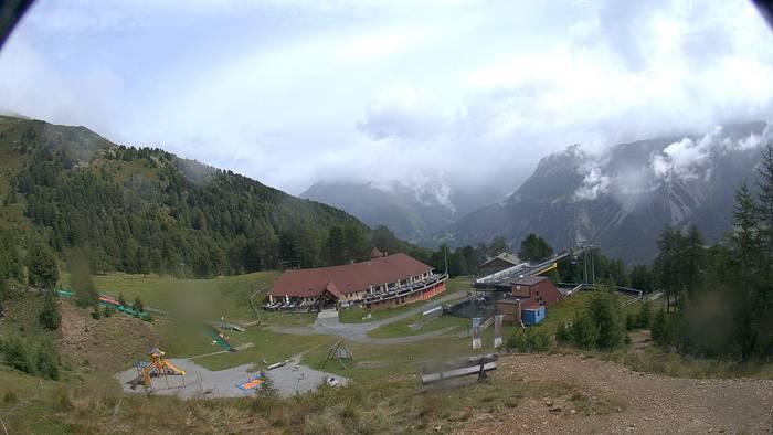 HD Live Webcam Bergstation Haideralm - Skigebiet Schöneben