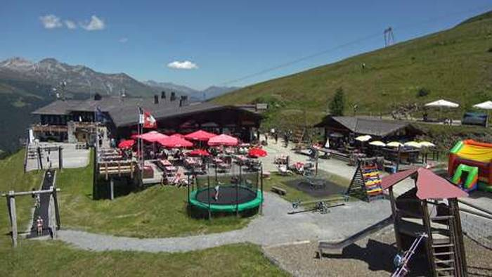 HD Live Webcam Davos Glaris - Jatzmeder