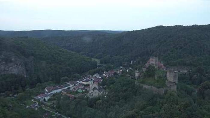 HD Live Webcam Hardegg - Nationalpark Thayatal