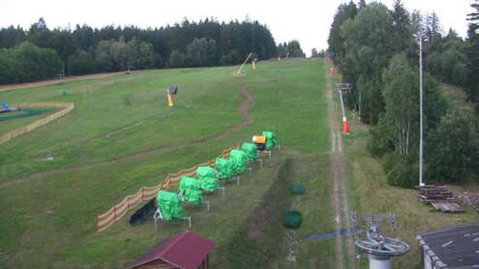 HD Live Webcam Železná Ruda - Nad nádražím
