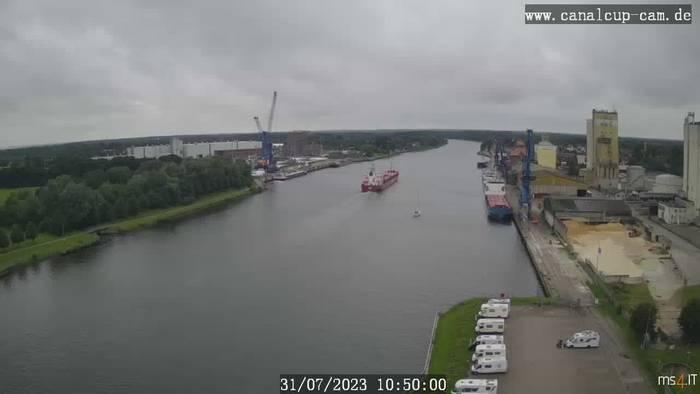 HD Live Webcam Rendsburg - Nord-Ostsee-Kanal