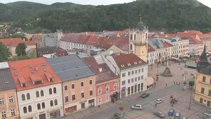 HD Live Webcam Banská Bystrica - Národní dům