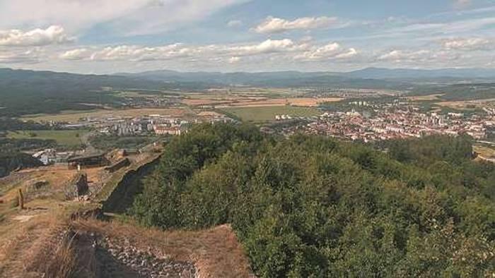 HD Live Webcam Zvolen - Pustý hrad